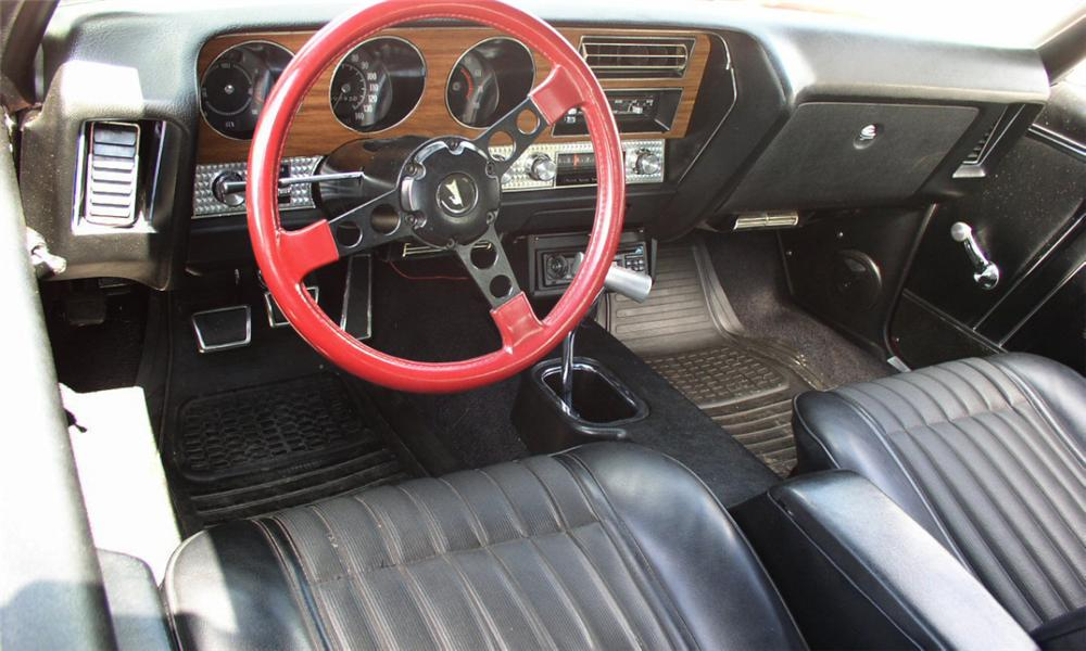 1970 PONTIAC GTO CUSTOM COUPE - Interior - 16216