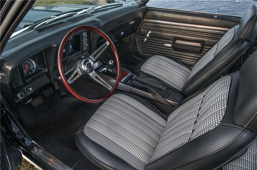 1969 CHEVROLET CAMARO COUPE COPO RE-CREATION - Interior - 162163