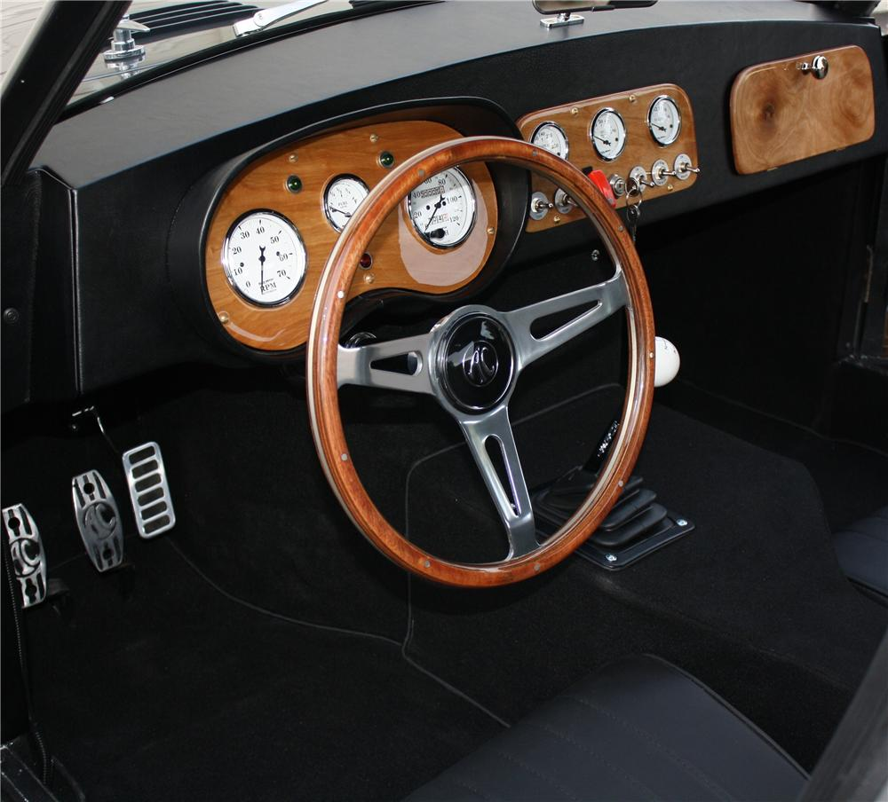 1955 AC ACECA 2 DOOR COUPE - Interior - 162165