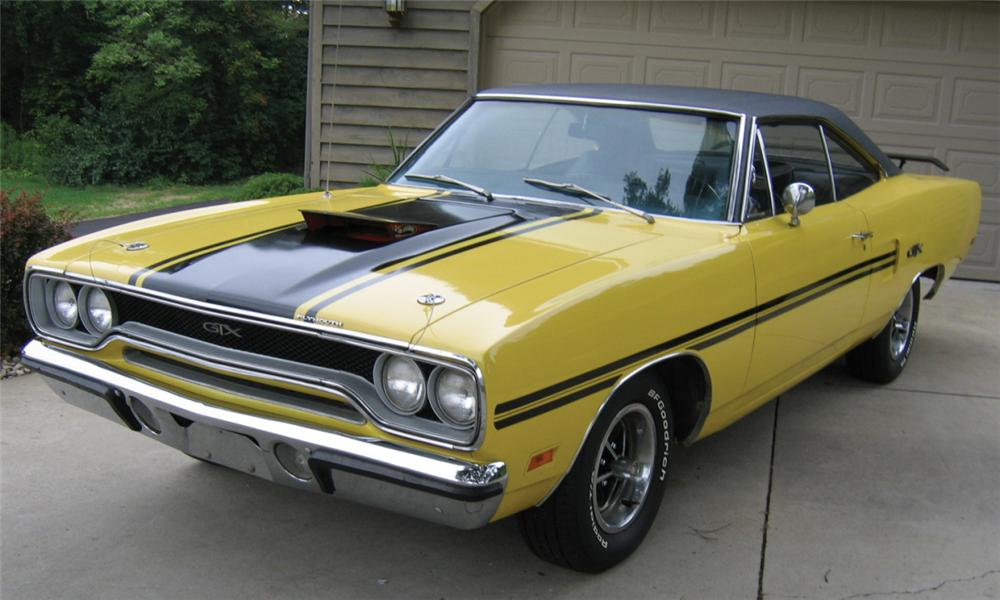 1970 PLYMOUTH GTX COUPE - Front 3/4 - 16217