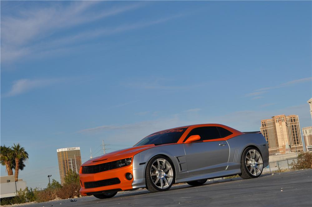 2012 CHEVROLET CAMARO 2SS CUSTOM 2 DOOR COUPE - Front 3/4 - 162174
