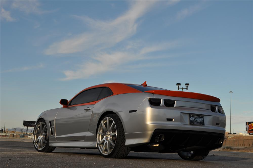 2012 CHEVROLET CAMARO 2SS CUSTOM 2 DOOR COUPE - Rear 3/4 - 162174