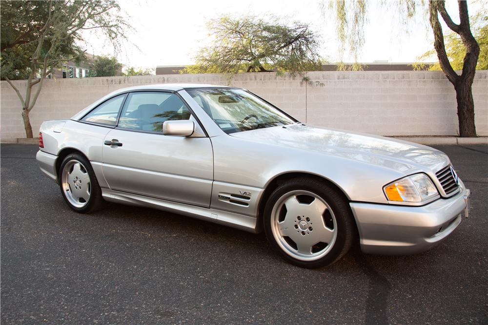 Online Car Auctions >> 1997 MERCEDES-BENZ SL600 CONVERTIBLE