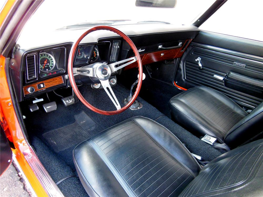 1969 CHEVROLET CAMARO COPO RE-CREATION - Interior - 162188