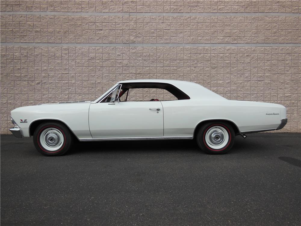 1966 CHEVROLET CHEVELLE SS 396 2 DOOR - Side Profile - 162191