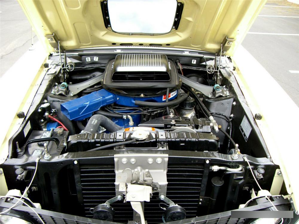 1969 FORD MUSTANG MACH 1 FASTBACK - Engine - 162193