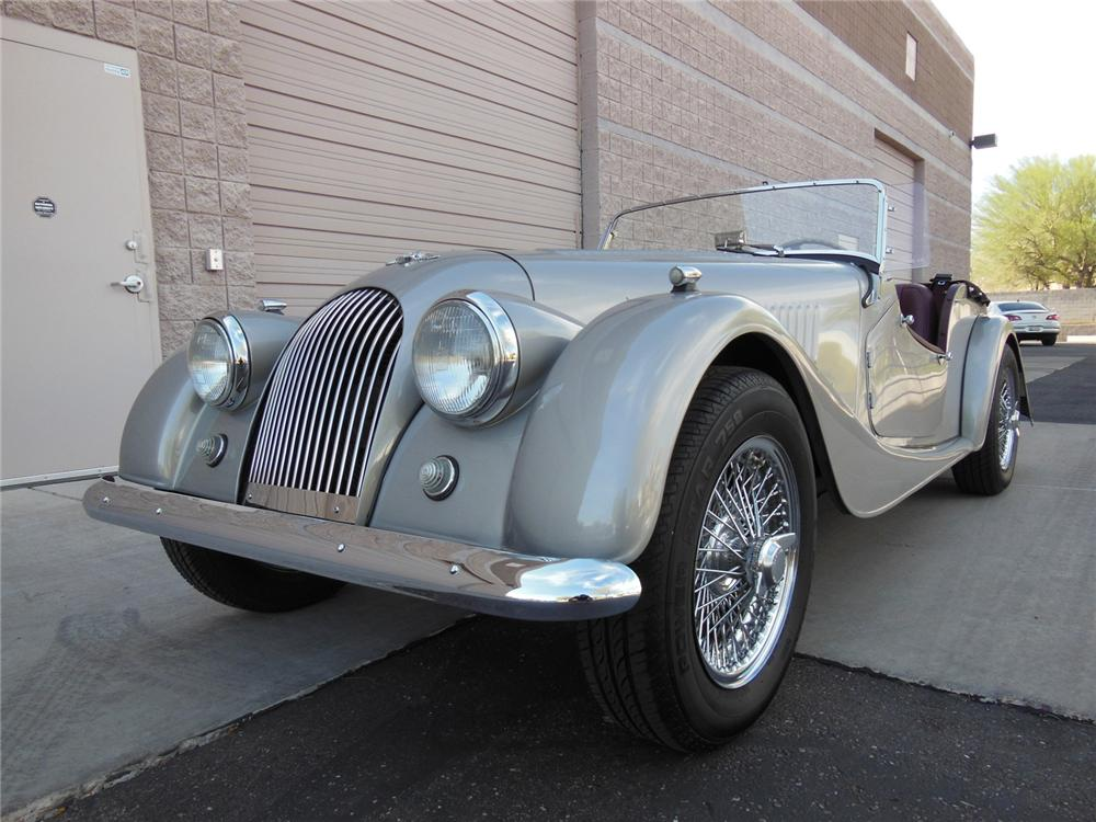 1961 MORGAN CONVERTIBLE - Front 3/4 - 162194