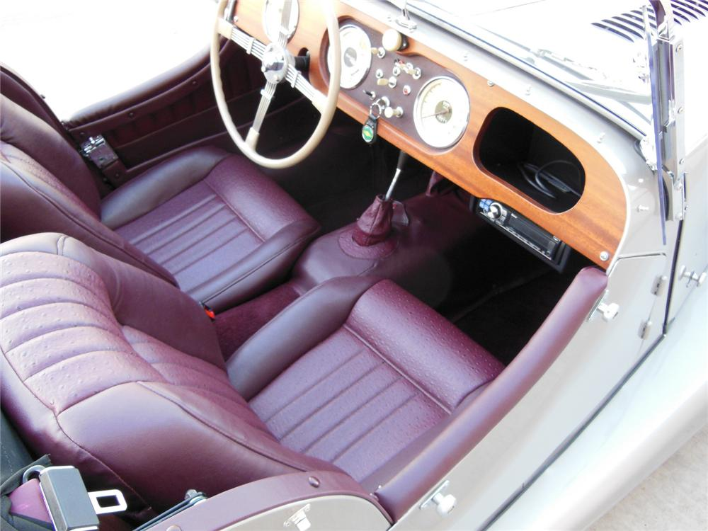 1961 MORGAN CONVERTIBLE - Interior - 162194