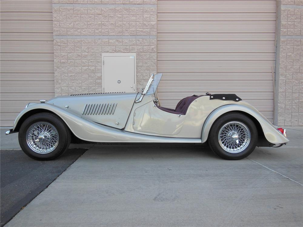 1961 MORGAN CONVERTIBLE - Side Profile - 162194
