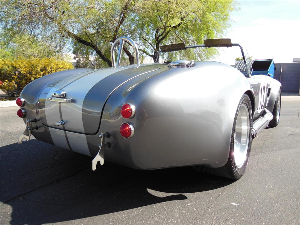 1965 SHELBY COBRA RE-CREATION ROADSTER - Rear 3/4 - 162195