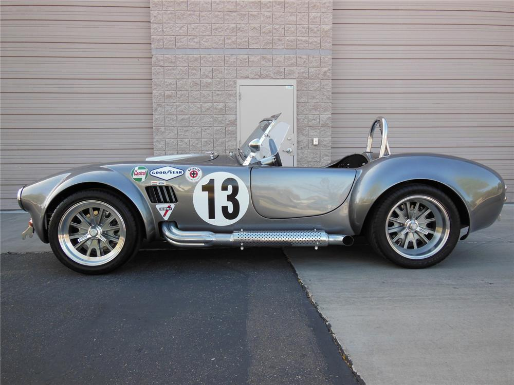 1965 SHELBY COBRA RE-CREATION ROADSTER - Side Profile - 162195