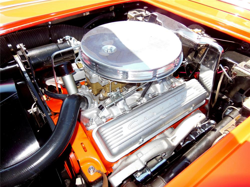 1958 CHEVROLET CORVETTE CONVERTIBLE - Engine - 162196