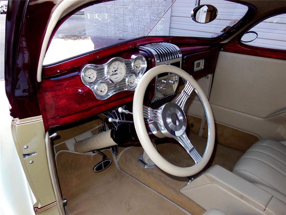 1938 coupe chevrolet door custom interior jackson