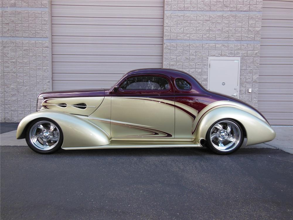 1938 chevrolet custom 2 door coupe 162197 for 1938 oldsmobile 2 door sedan