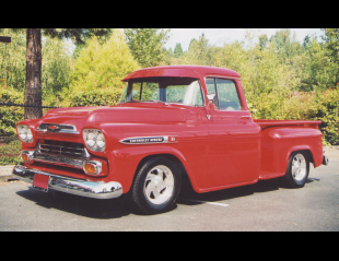 1959 CHEVROLET APACHE CUSTOM PICKUP -  - 16220
