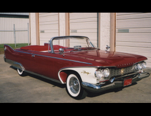 1960 PLYMOUTH FURY CONVERTIBLE -  - 16222