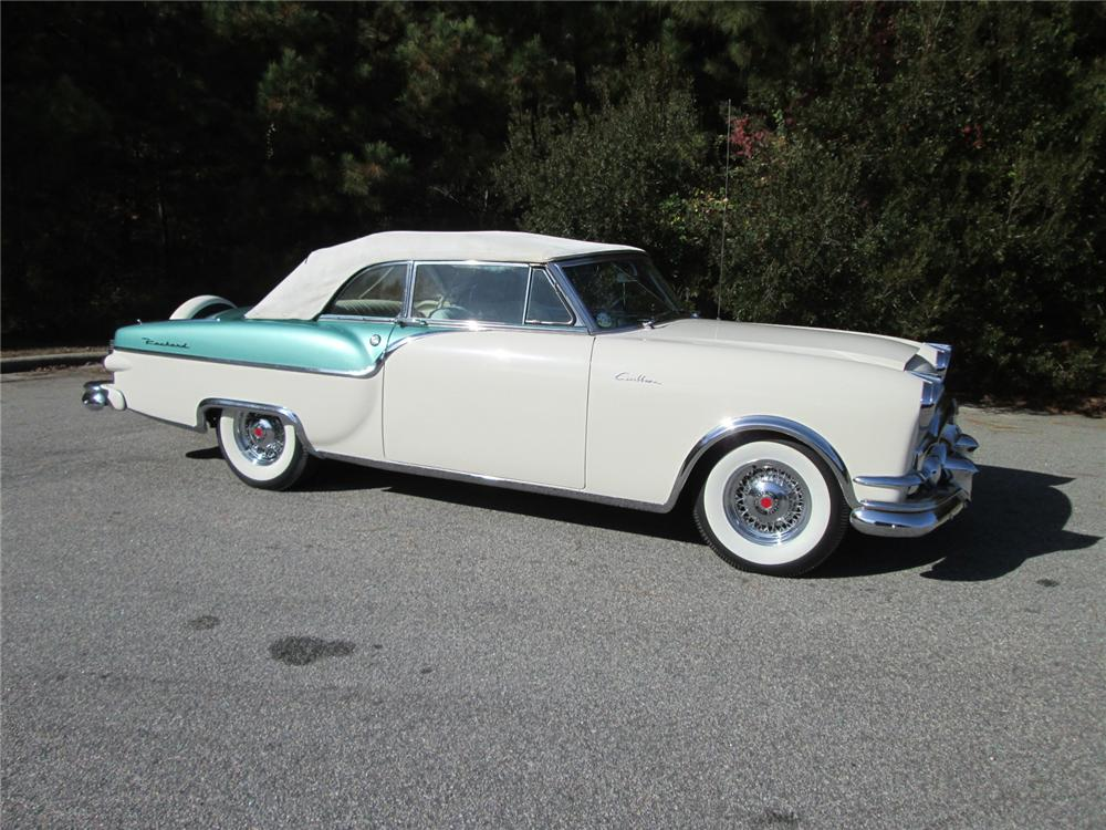 1954 PACKARD CARIBBEAN CONVERTIBLE - Side Profile - 162225