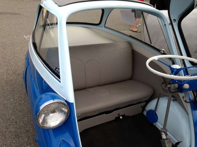 1957 BMW ISETTA CONVERTIBLE - Interior - 162229