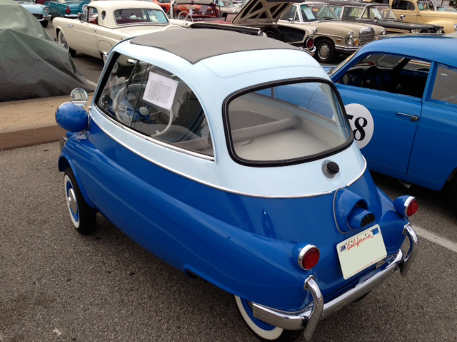 1957 BMW ISETTA CONVERTIBLE - Rear 3/4 - 162229