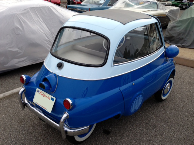 1957 BMW ISETTA CONVERTIBLE - Side Profile - 162229