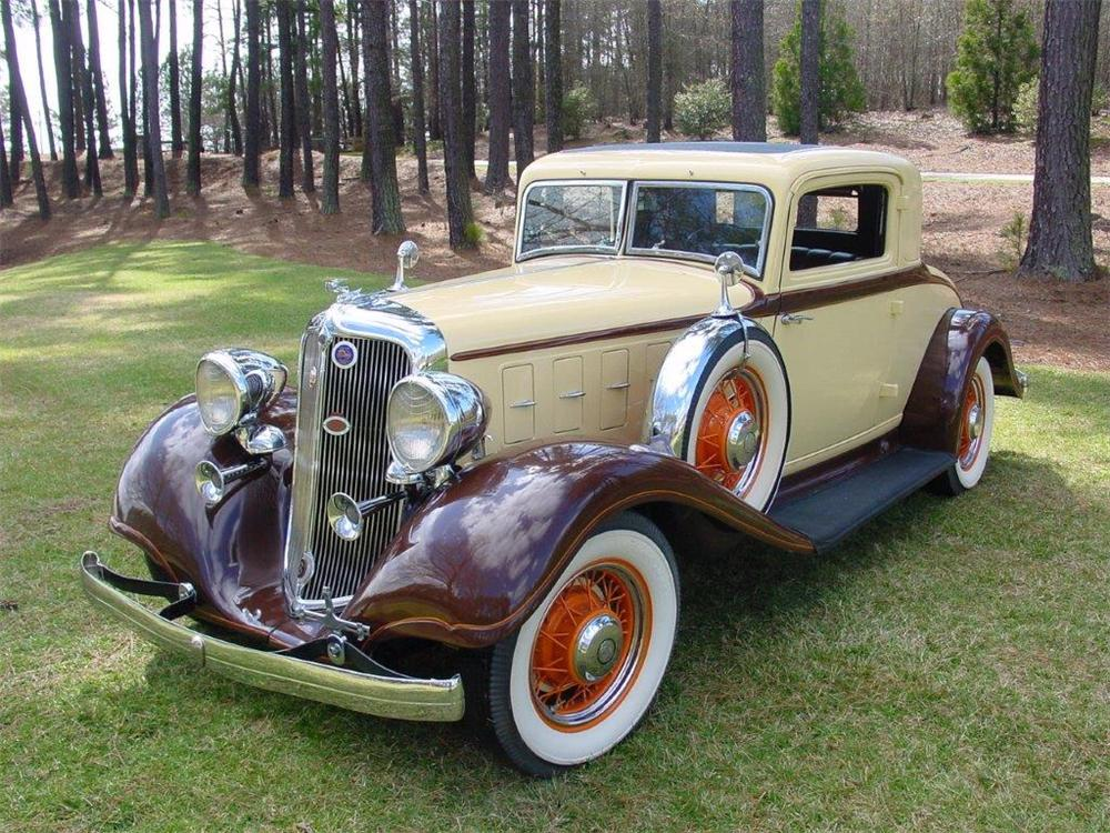 1933 CHRYSLER ROYAL 2 DOOR COUPE - Front 3/4 - 162230