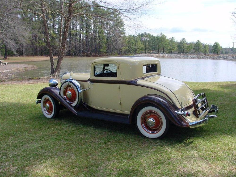 1933 CHRYSLER ROYAL 2 DOOR COUPE - Side Profile - 162230