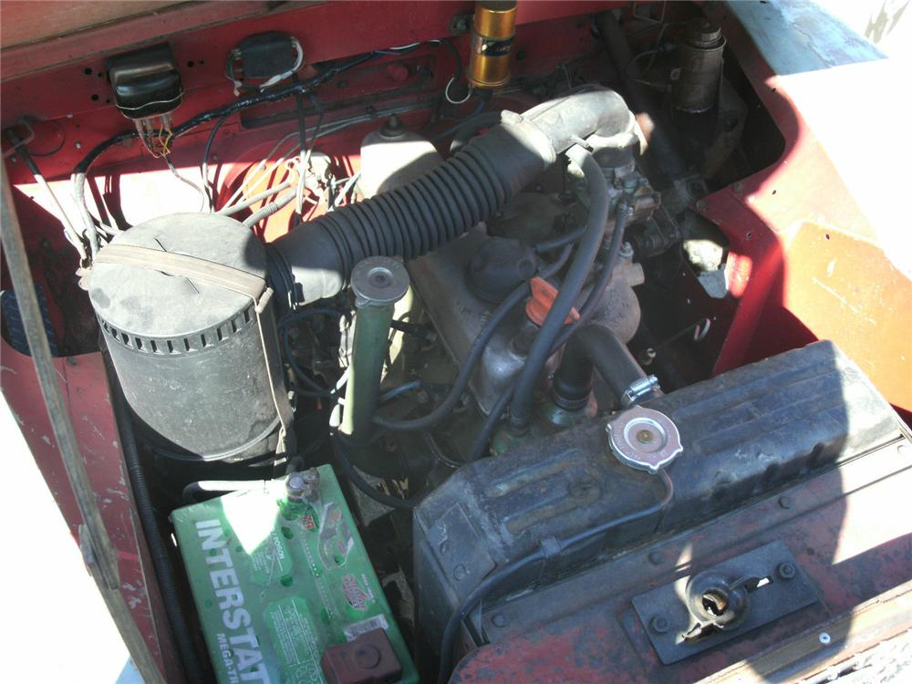 1967 LAND ROVER SERIES IIA SUV - Engine - 162232