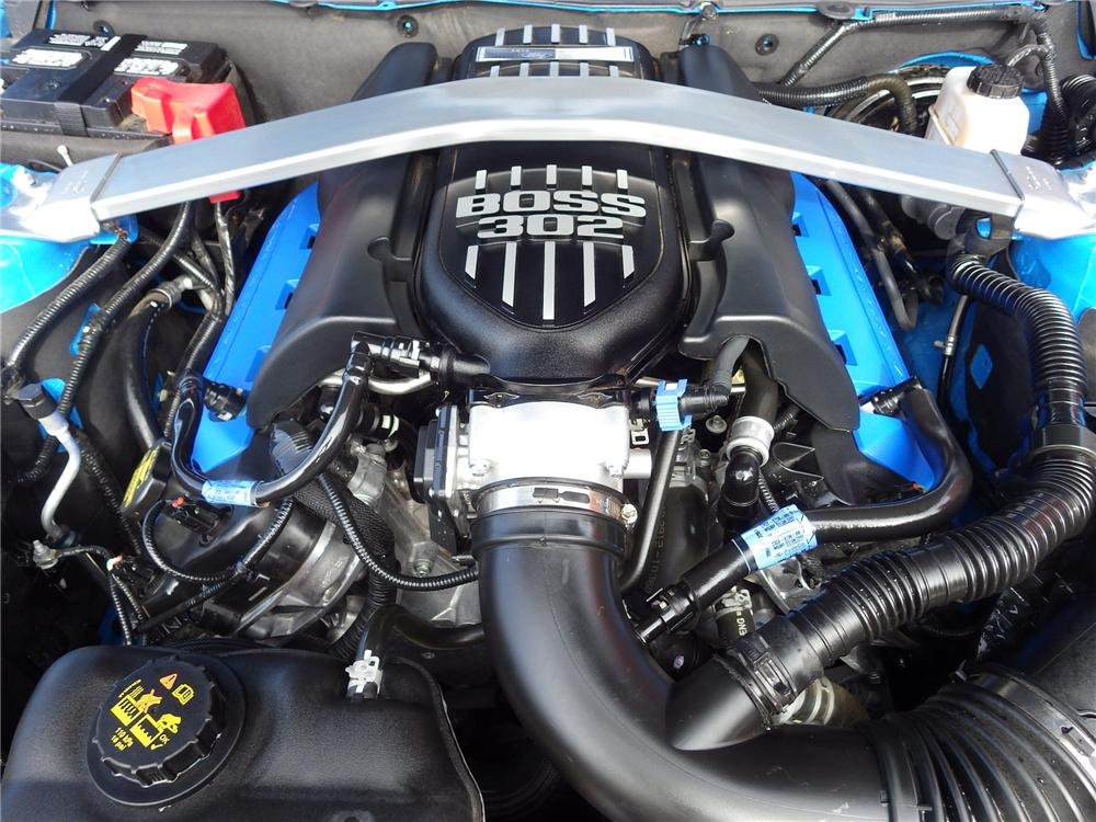 2013 FORD MUSTANG BOSS 302 2 DOOR COUPE - Engine - 162237
