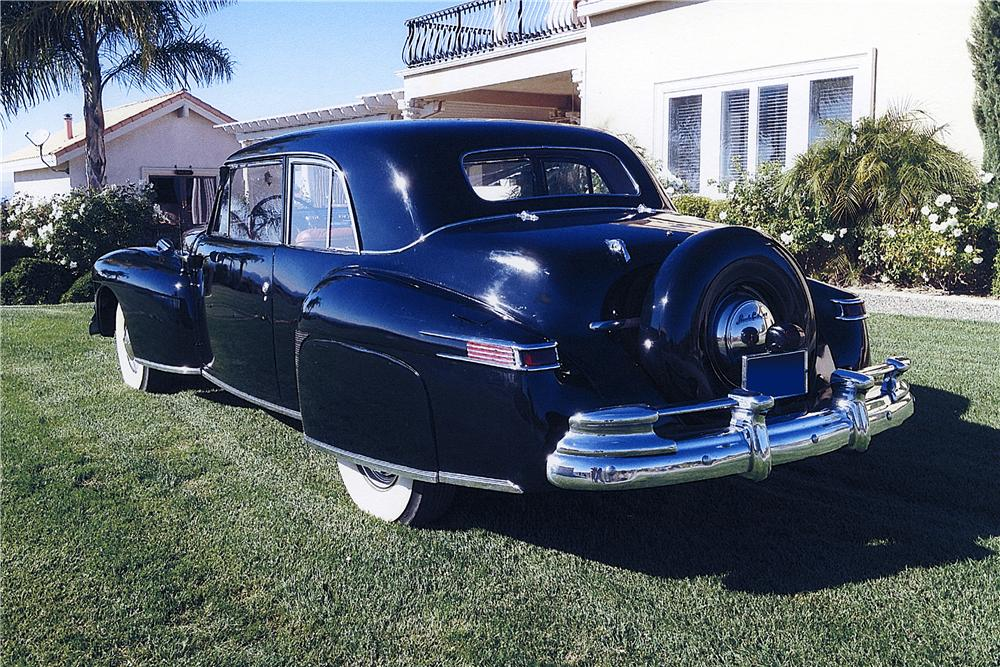 1948 LINCOLN CONTINENTAL COUPE - Rear 3/4 - 162241