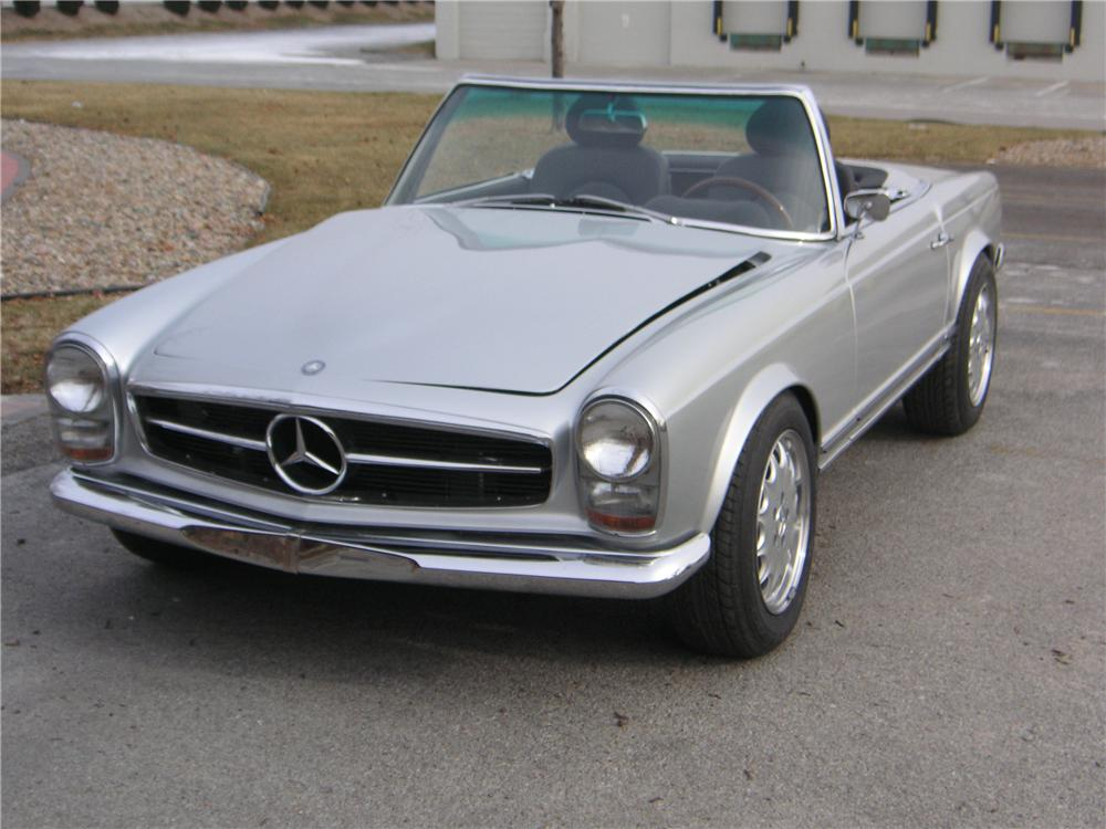 1966 mercedes benz 230sl custom roadster 162243 for Mercedes benz 230sl