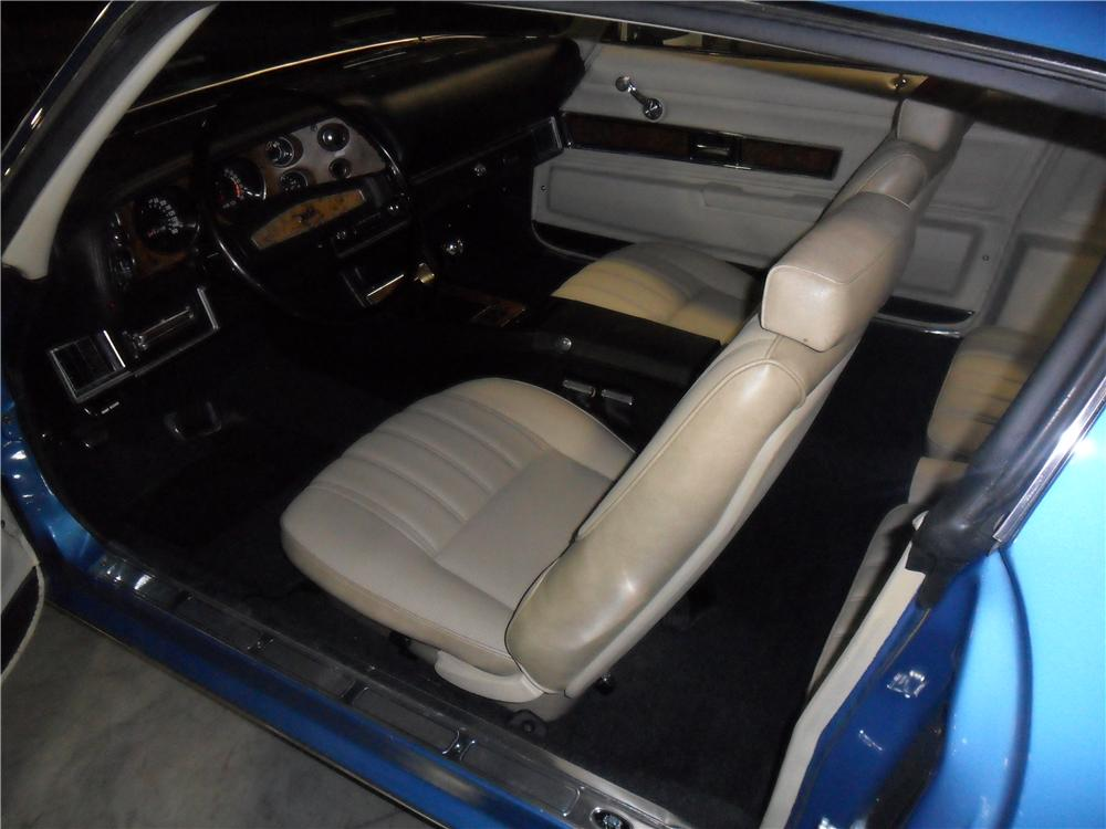 1970 CHEVROLET CAMARO Z/28 2 DOOR COUPE - Interior - 162247