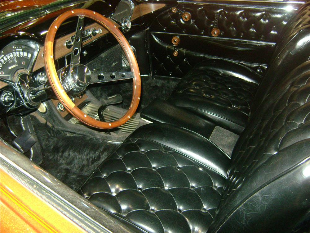 1955 CHEVROLET 150 CUSTOM SEDAN - Interior - 162248