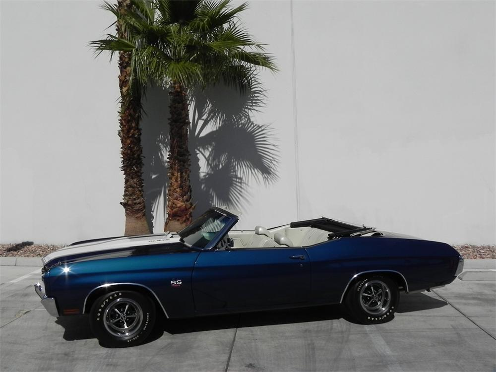 1970 CHEVROLET CHEVELLE LS6 SS CONVERTIBLE RE-CREATION - Side Profile - 162250