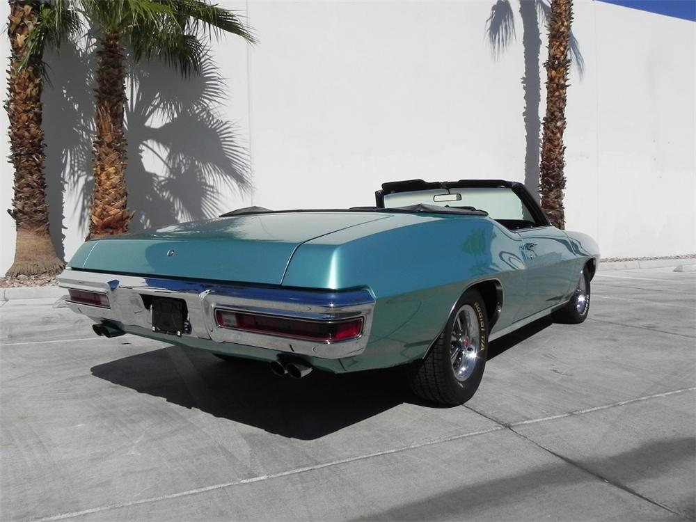 1970 PONTIAC GTO CONVERTIBLE - Rear 3/4 - 162251