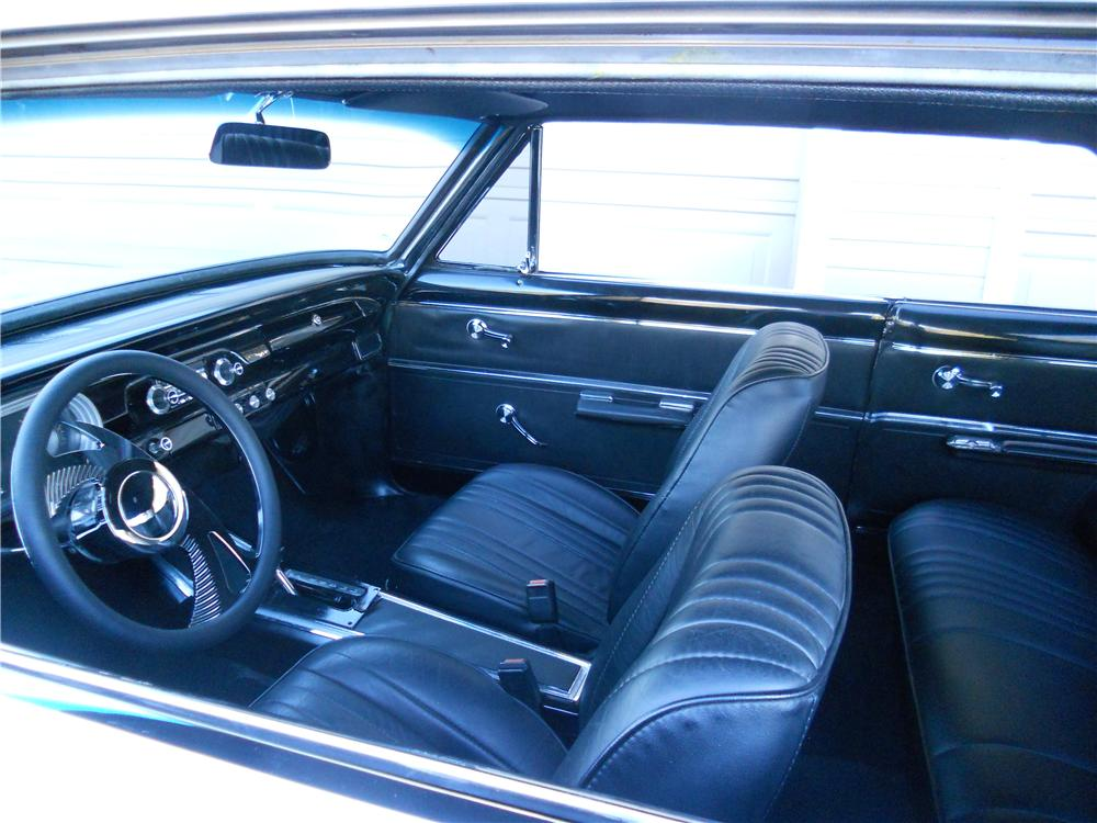 1965 CHEVROLET NOVA SS CUSTOM 2 DOOR HARDTOP - Interior - 162256
