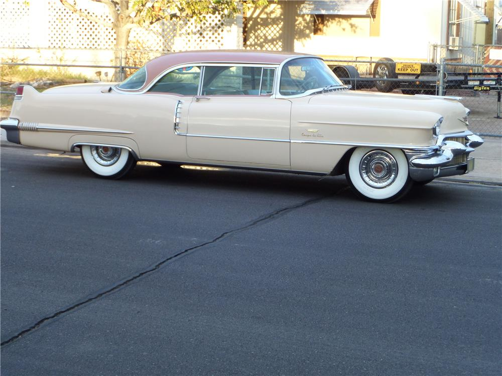 1956 cadillac coupe de ville 2 door hardtop 162269 for 1956 cadillac 4 door sedan