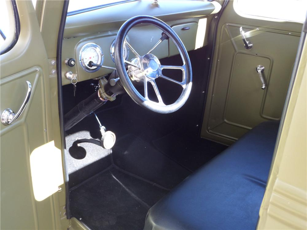 1939 FORD F-1 CUSTOM PICKUP - Interior - 162270