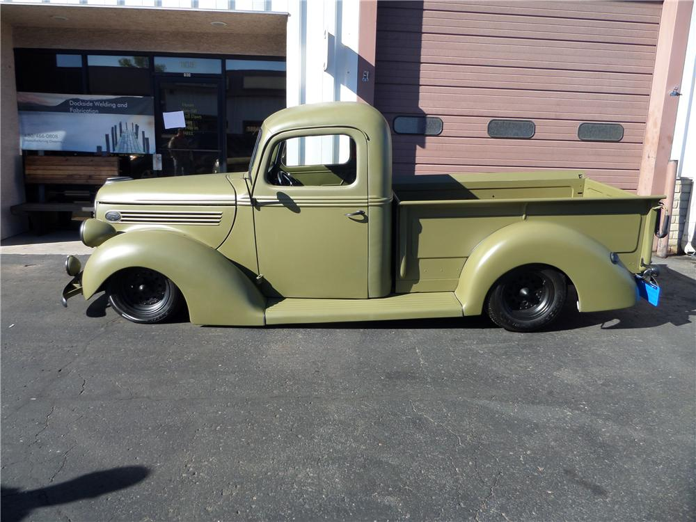 1939 FORD F-1 CUSTOM PICKUP - Side Profile - 162270