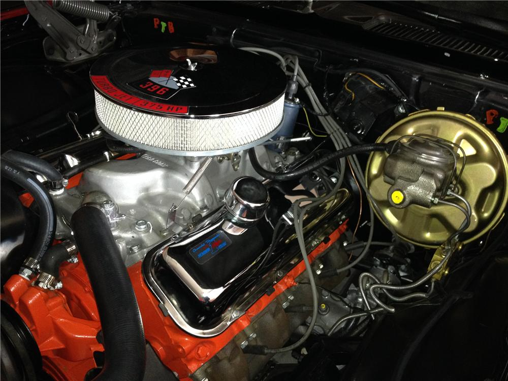 1967 CHEVROLET CAMARO CUSTOM 2 DOOR COUPE - Engine - 162274