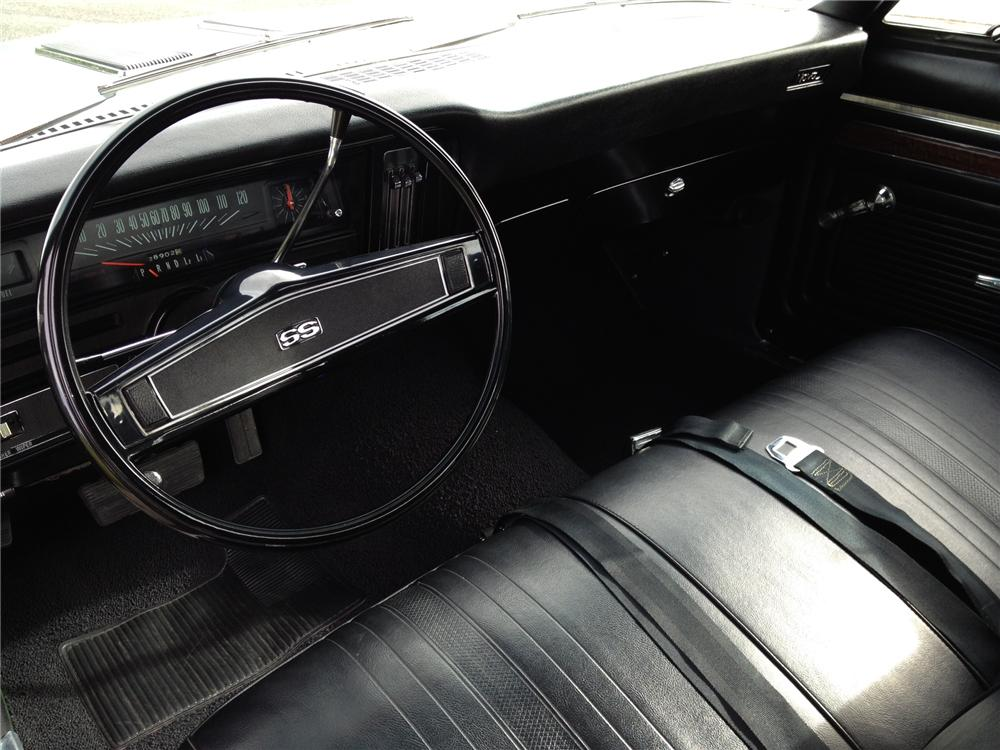 1970 CHEVROLET NOVA SS 2 DOOR COUPE - Interior - 162276