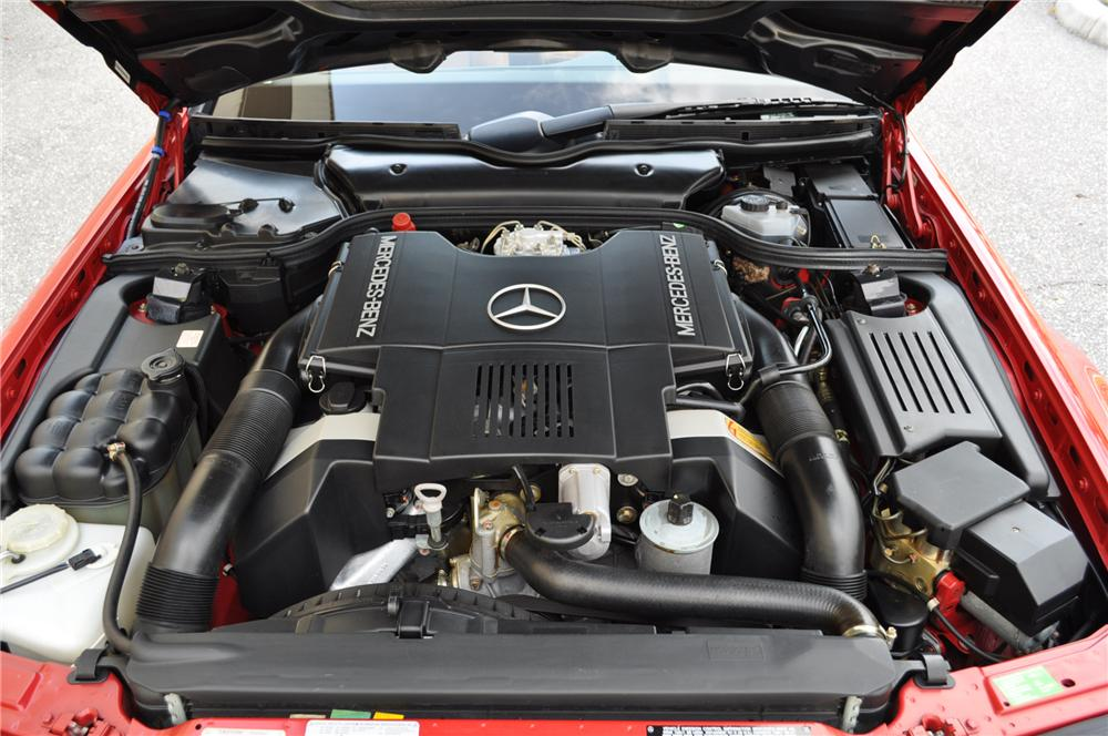 1992 MERCEDES-BENZ 500SL CONVERTIBLE - Engine - 162277