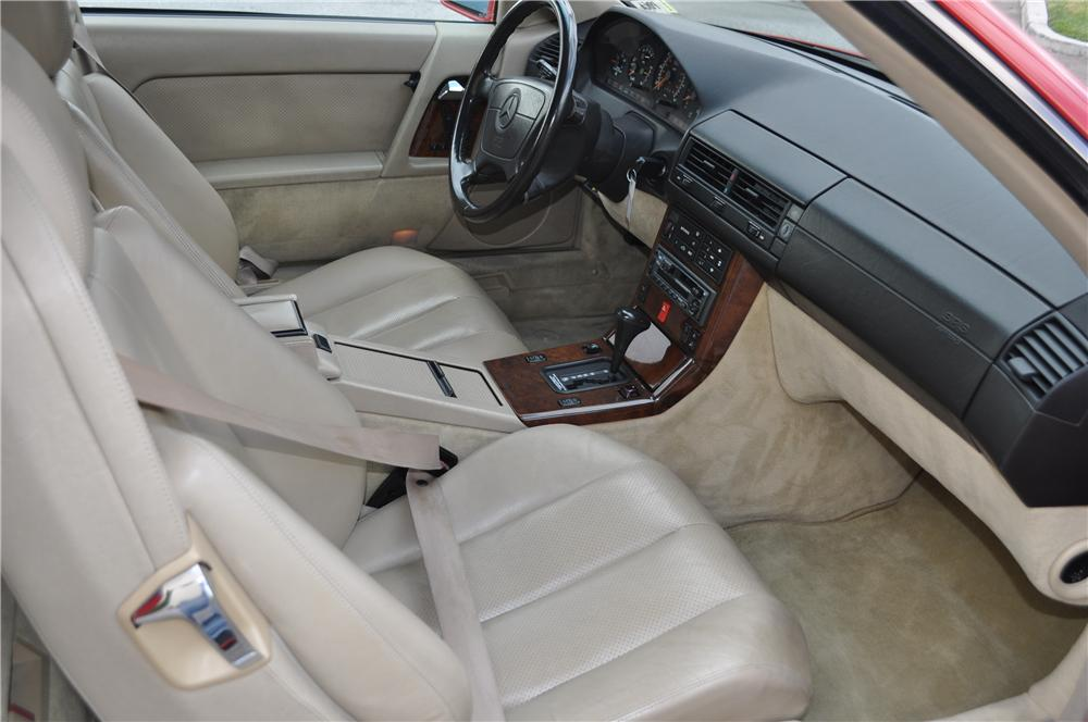 1992 MERCEDES-BENZ 500SL CONVERTIBLE - Interior - 162277