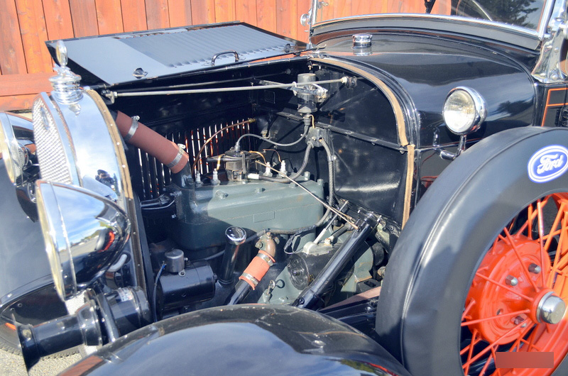1929 FORD 2 DOOR ROADSTER - Engine - 162287