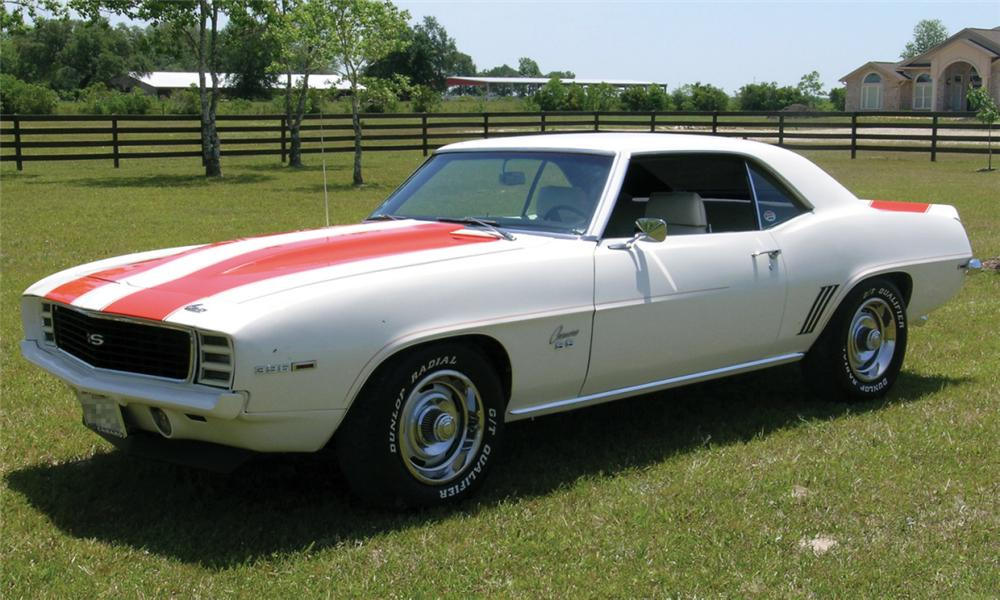 1969 CHEVROLET CAMARO Z-10 RS/SS PACE CAR COUPE - Front 3/4 - 16229