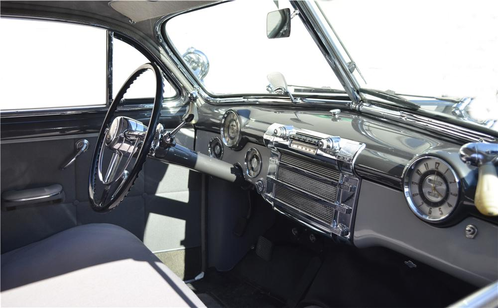 1948 BUICK ROADMASTER 2 DOOR SEDANETTE - Interior - 162290