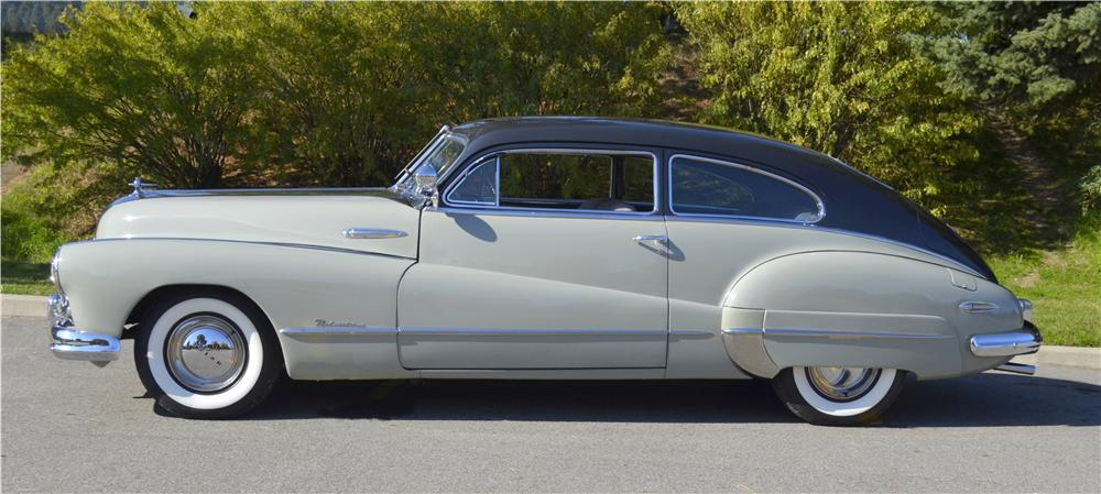 1948 BUICK ROADMASTER 2 DOOR SEDANETTE - Side Profile - 162290