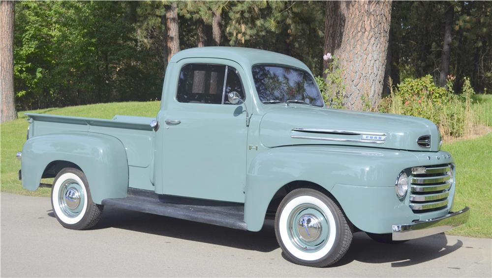 1948 FORD 1/2 TON PICKUP - Front 3/4 - 162293