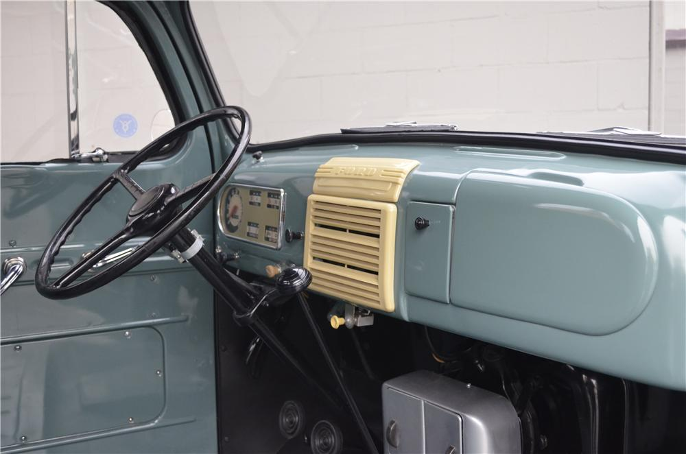 1948 FORD 1/2 TON PICKUP - Interior - 162293