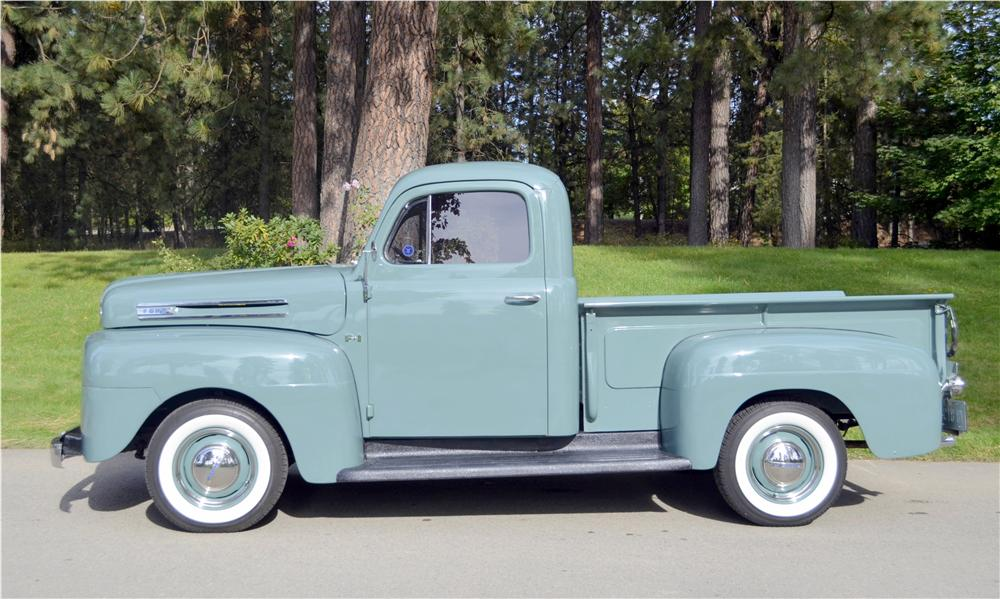 1948 FORD 1/2 TON PICKUP - Side Profile - 162293
