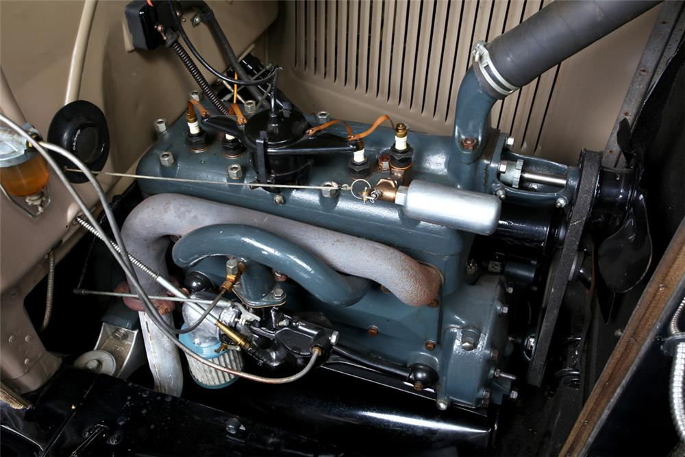 1931 FORD MODEL A ROADSTER - Engine - 162295